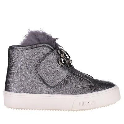 Picture of Liu Jo L1A420008 kids sneakers silver
