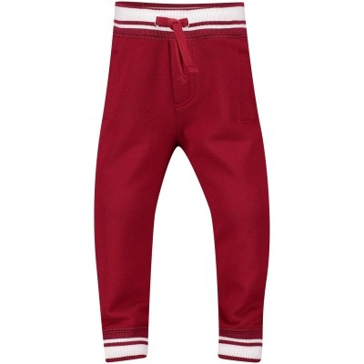 Picture of Dolce & Gabbana L1JPT0G7OGX baby pants red