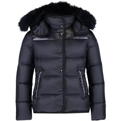 Picture of Moncler 4686825 kids jacket navy
