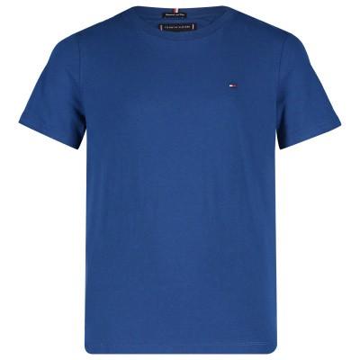 Afbeelding van Tommy Hilfiger KB0KB04692 kinder t-shirt cobalt blauw