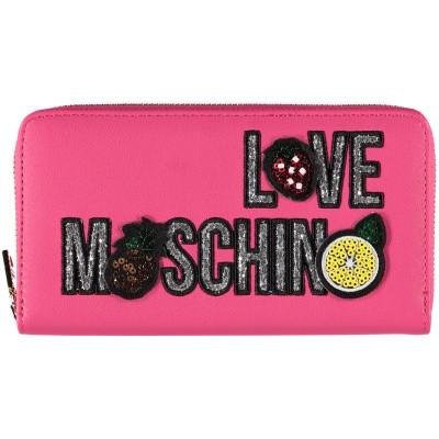 Afbeelding van Moschino JC5653 dames portemonnee fuchsia