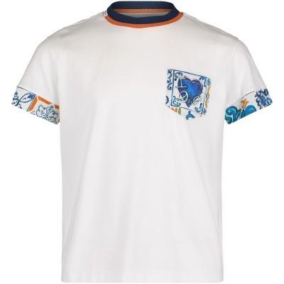 Afbeelding van Dolce & Gabbana L4JT7Y kinder t-shirt wit