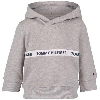 Afbeelding van Tommy Hilfiger KB0KB04034 B baby hoodie grijs