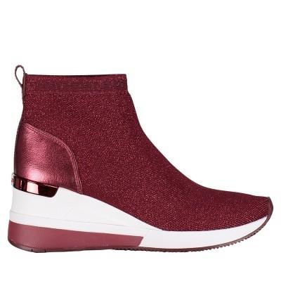 Picture of Michael Kors 43F8SKFE8D womens sneakers bordeaux