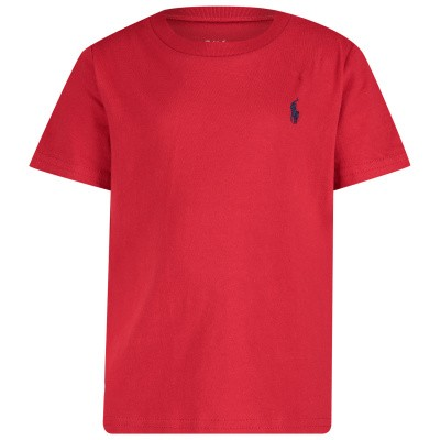 Afbeelding van Ralph Lauren 674984 baby t-shirt rood