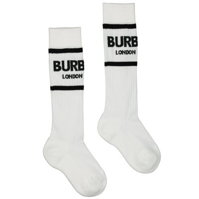 Picture of Burberry 8009428 kids socks white