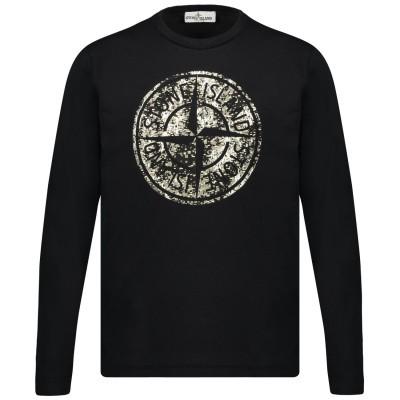 Afbeelding van Stone Island 711621157 kinder t-shirt zwart