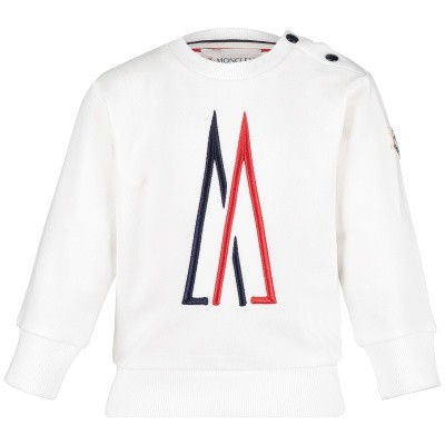 Picture of Moncler 8024805 baby sweater off white
