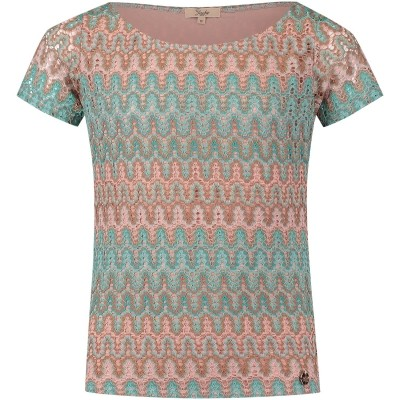 Afbeelding van Jacky Girls JGSS18083 kinder t-shirt mint