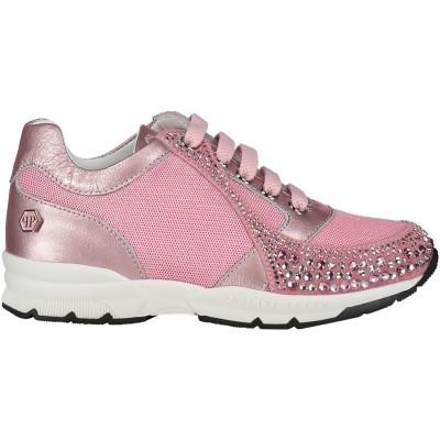 Afbeelding van Philipp Plein GSC0025 kindersneakers roze