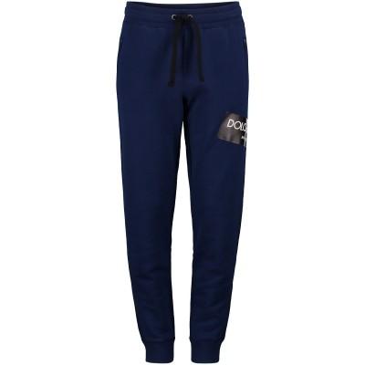 Afbeelding van Dolce & Gabbana L4JPS6 kinderbroek cobalt blauw