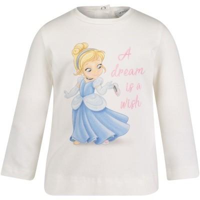 Afbeelding van MonnaLisa 392609SV baby t-shirt off white