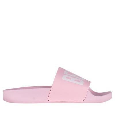 Afbeelding van The White Brand K0152 kinderslippers licht roze