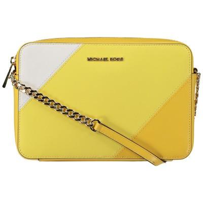 Afbeelding van Michael Kors 32S9GF5C3T dames tas geel