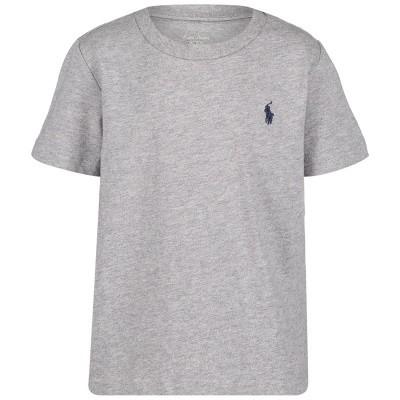 Picture of Ralph Lauren 674984 baby shirt grey