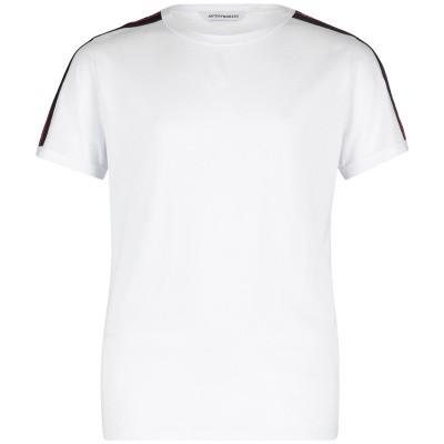 Afbeelding van Antony Morato MKKS00387 kinder t-shirt wit