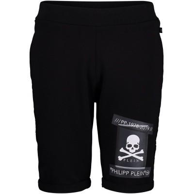 Picture of Philipp Plein BJT0202 kids shorts black