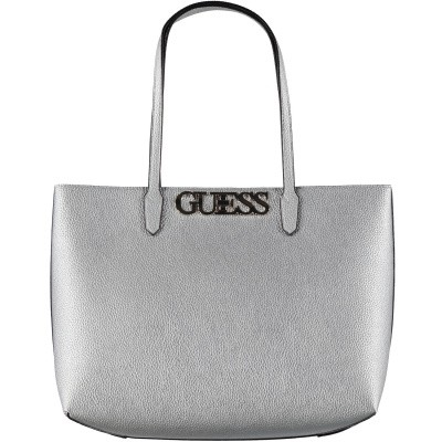 Picture of Guess HWMG7301230 womens bag silver
