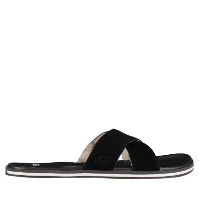 Picture of Ugg 1020086 womens flipflops black
