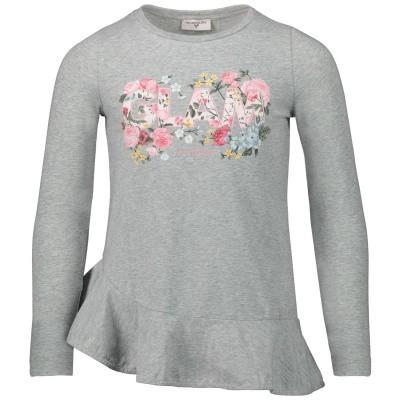 Afbeelding van MonnaLisa 114618SD kinder t-shirt grijs