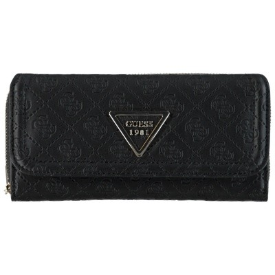 Picture of Guess SWSG7100620 womens wallet black