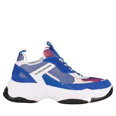 Afbeelding van Calvin Klein MAYA dames sneakers cobalt blauw