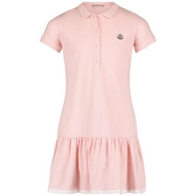 Afbeelding van Moncler 8568105 kinderjurk licht roze