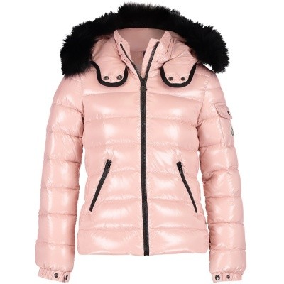 Picture of Moncler 4688625 kids jacket light pink