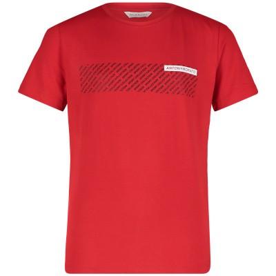 Afbeelding van Antony Morato MKKS00400 kinder t-shirt rood