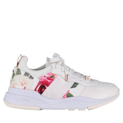 Picture of Ted Baker 918000 womens sneakers white