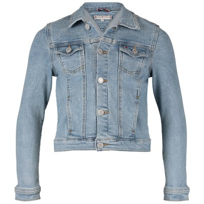 Picture of Tommy Hilfiger KG0KG04232 kids jacket jeans