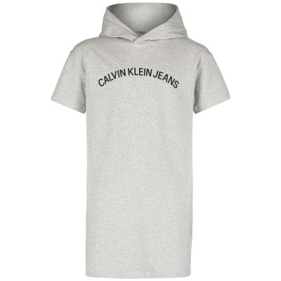 Picture of Calvin Klein IG0IG00130 kids dress light gray
