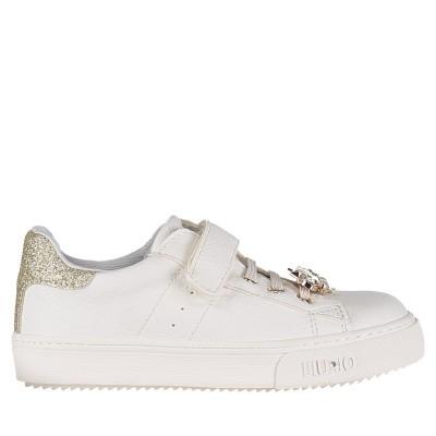 Picture of Liu Jo L1A4 20222 kids sneakers white