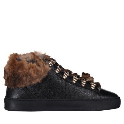 Afbeelding van Woolrich W3121 dames sneakers zwart