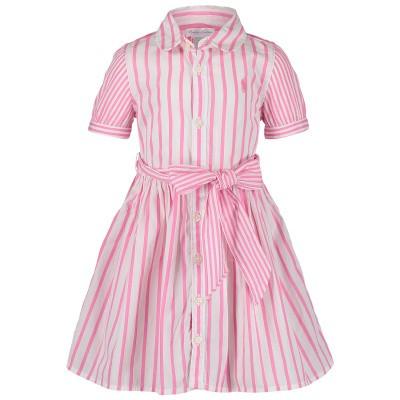 Picture of Ralph Lauren 736026B baby dress pink