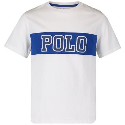 Afbeelding van Ralph Lauren 737839 kinder t-shirt wit