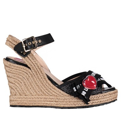 Picture of Moschino JA1631 womens sandals black