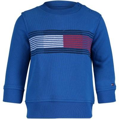 Picture of Tommy Hilfiger KB0KB04233B baby sweater cobalt blue