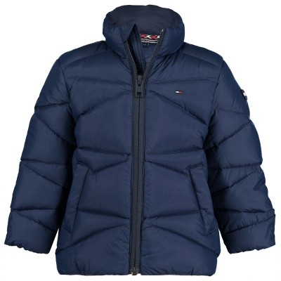 Picture of Tommy Hilfiger KB0KB04092 B baby jacket navy