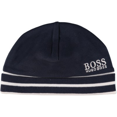 Picture of Boss J91090 baby hat navy
