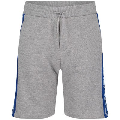 Picture of Kenzo KN25618 kids shorts light gray