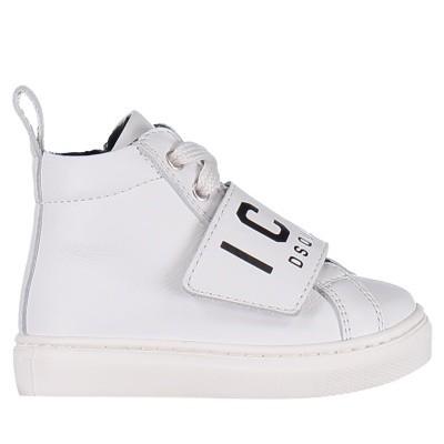 Afbeelding van Dsquared2 57012 kindersneakers wit
