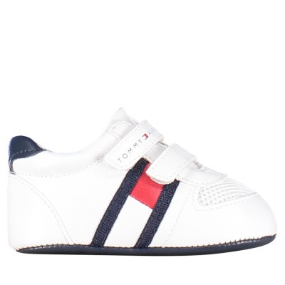 Picture of Tommy Hilfiger 30191 baby sneakers white