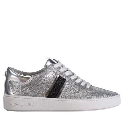 Afbeelding van Michael Kors 43T8KTFS2D dames sneakers zilver