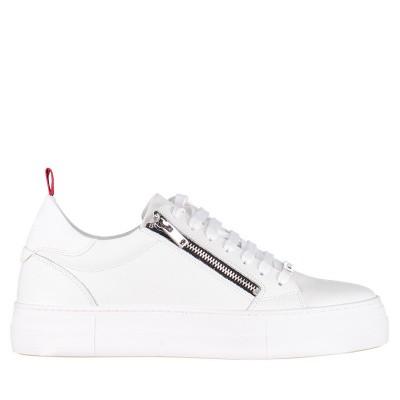 Afbeelding van Antony Morato MMFW01124 heren sneakers wit