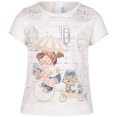 Picture of Mayoral 1010 baby shirt white