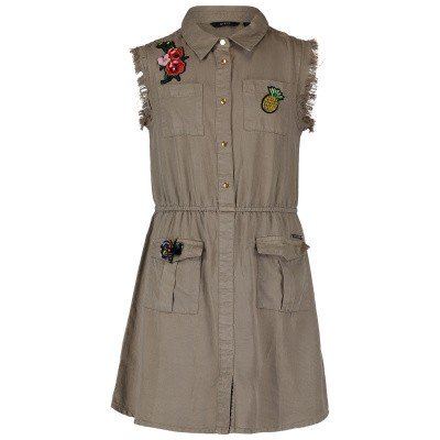 Picture of Guess J92K35 kids dress army