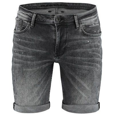 Picture of Pure White THE STEVE W0306 mens shorts black