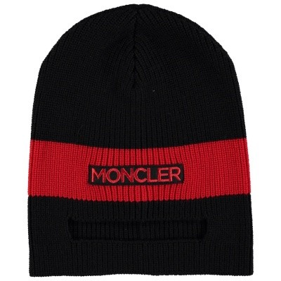 Picture of Moncler 9920800 kids hat black