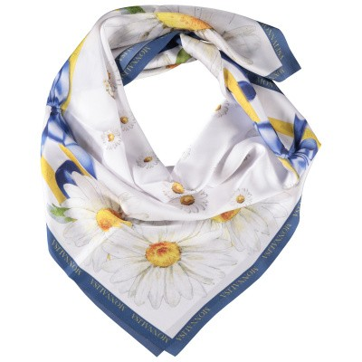 Picture of MonnaLisa 193001 kids scarf white